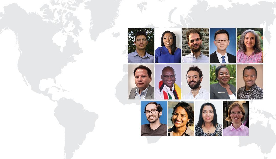 2020 Maurice R. Greenberg World Fellows (Photo Credit: Yale University)