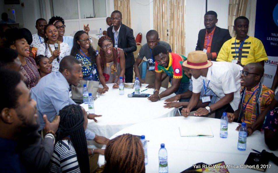 YALI RLC West Africa Emerging Leaders Program Cohort of 2017